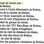 1996 Brehna groupe de travail