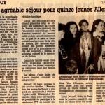 1996 Mars arrivée des jeunes de Brehna (Copier)