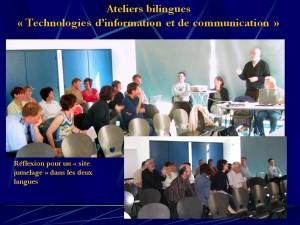 2008 Projet site internet bilingue