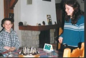 Ulrike 19 ans.